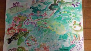 龍古生物絵図