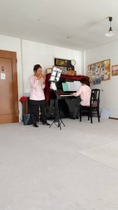 2020年11月オカリナとピアノ